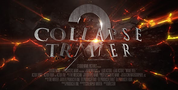 Videohive Collapse Trailer 17001875