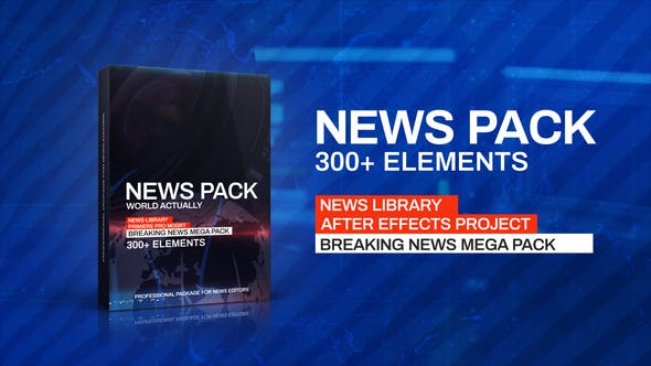 Videohive News Library - Broadcast Pack v.2 23333054