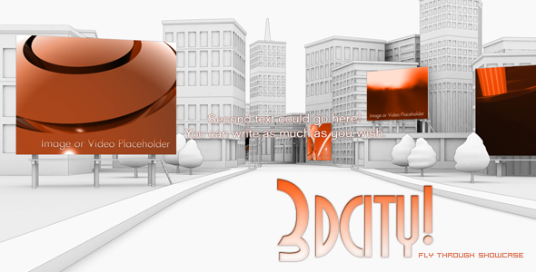 Videohive 3d City animation - Fly Through Showcase.86446