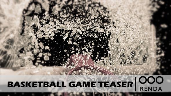 Videohive Basketball Game Teaser 16509982