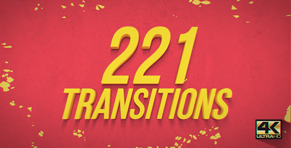 Videohive Big Pack Transitions 19553929
