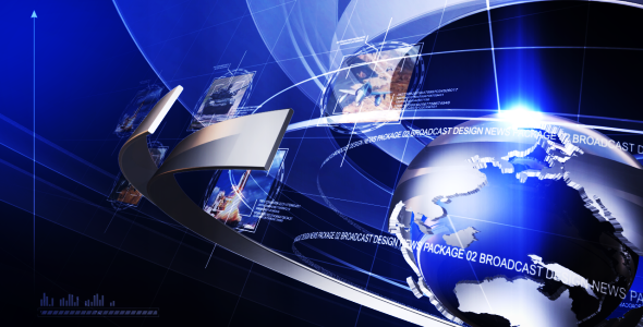 Videohive Broadcast Design News Package 02