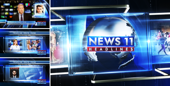 Videohive Broadcast Design News Package 03 3175672