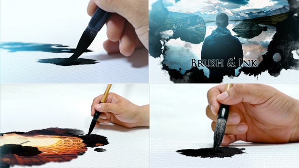 Videohive Brush and Ink Opener 13714215