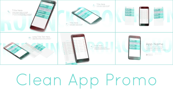 Videohive Clean App Promo 17328108