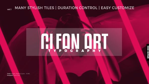 Videohive Clean Art Titles 20904837