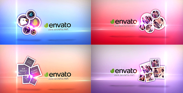 Videohive Clean Photo Logo Reveal