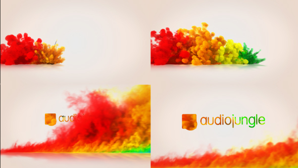 Videohive Color Blast Logo Reveal 19550408