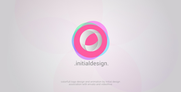 Videohive Colorfull Circle Logo 19417331