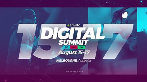 Videohive Digital Summit - Event Promo 21860651