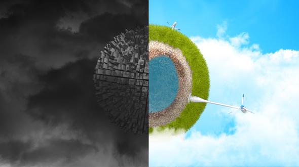 Videohive Ecology Earth Green Energy Logo Reveal 19306716