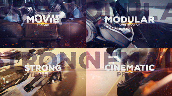 Videohive Epic Glitch Trailer 14450061