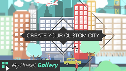Videohive Flat City Vector 16075205