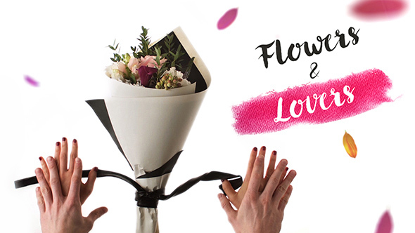 Videohive Flowers and Lovers 15023964