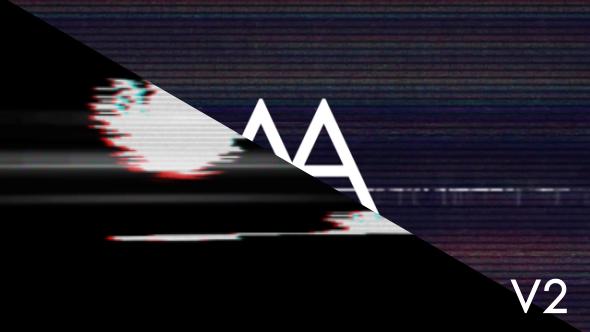 Videohive Glitch Logo 20190916
