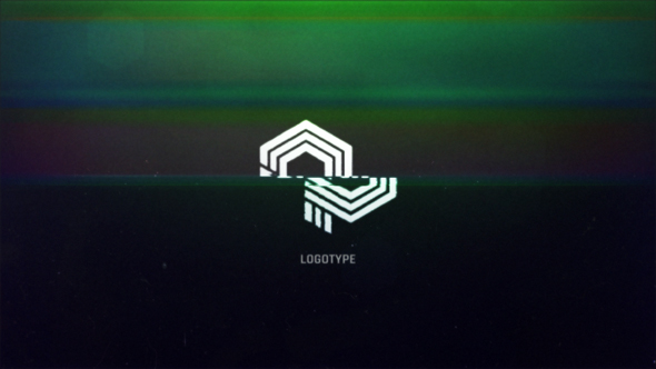 Videohive Glitch Logo Intro 19384167
