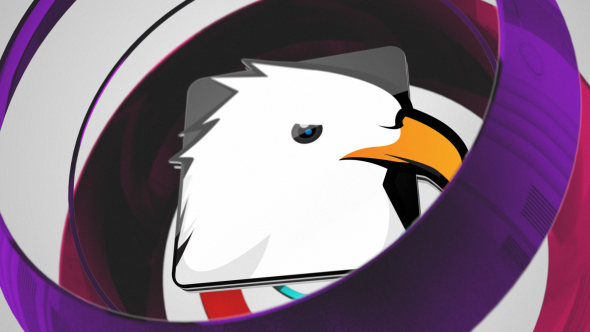 Videohive Glitch Spheres Logo 7199093