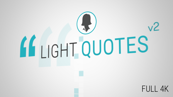 Videohive Light Quotes v2.7