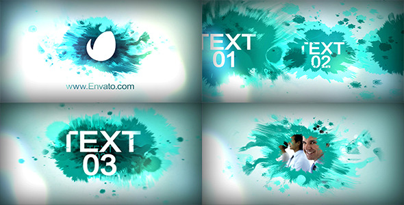 Videohive Logo Brush Reveal 12021644