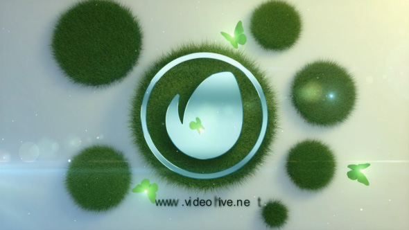 Videohive Logo in the Grass 19486460