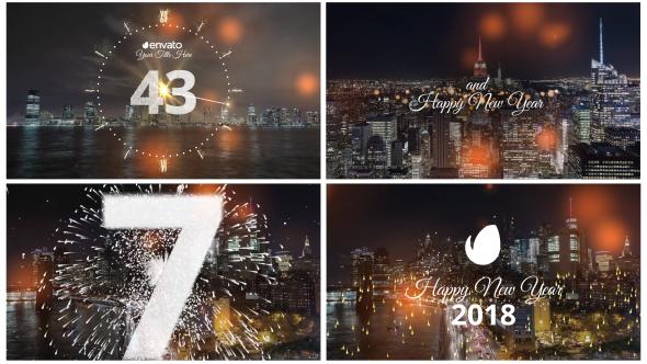 Videohive Minimal New Year Countdown 2019 20881692