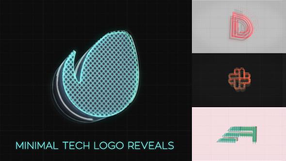 Videohive Minimal Tech Logo Reveals 19792269