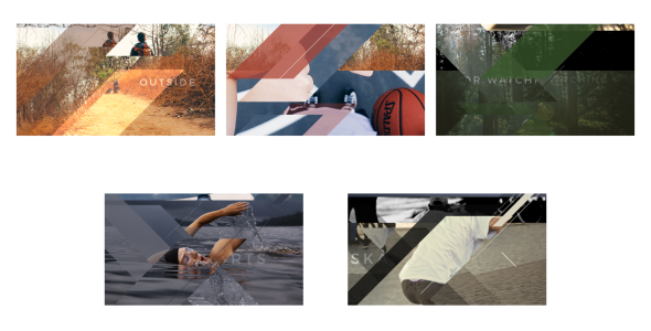 Videohive Modern Transitions 5 Pack 18298717