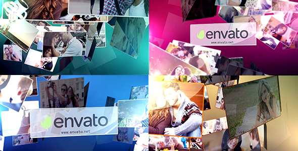 Videohive Multi Photo Logo Reveal 4