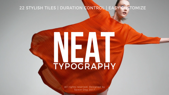 Videohive Neat Titles 20711294