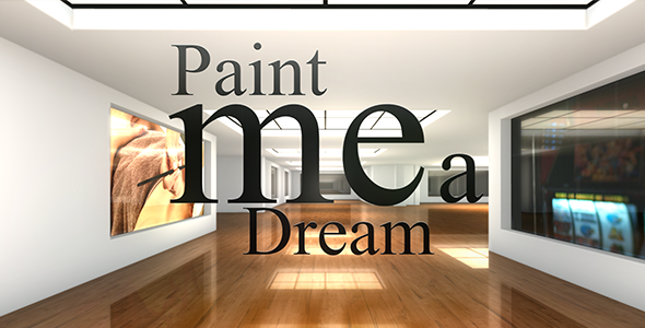 Videohive Paint me a Dream