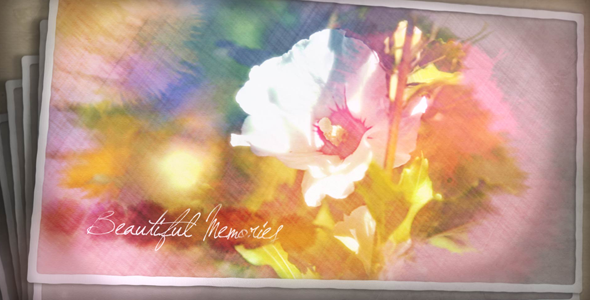 Videohive Painted Postcards