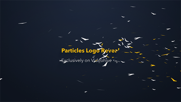 Videohive Particles Logo Reveal Toolkit 12355074