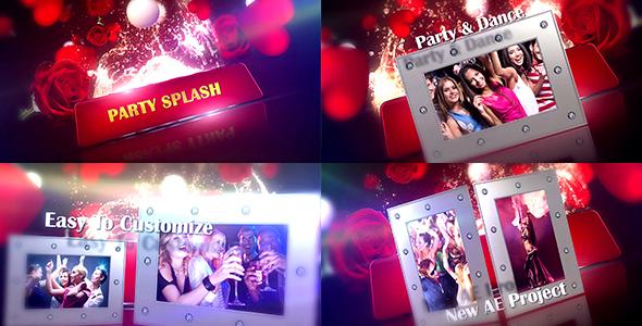 Videohive Party Splash 13359740
