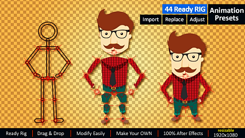 Videohive Ready Rig for Your Character 14328601