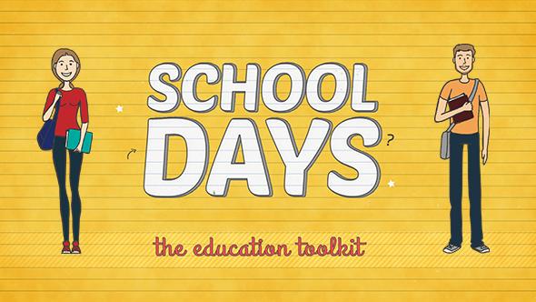 Videohive School Days Toolkit 12155336