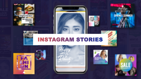 Videohive Stylish Insta Stories 22398018