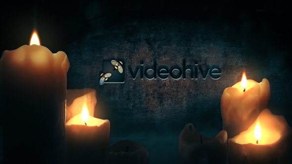 Videohive The Candle Logo 14430459