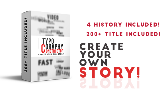 Videohive Typography Constructor 10688225