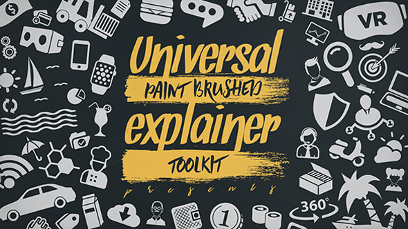 Videohive Universal Paint Brushed Explainer Toolkit 19733684