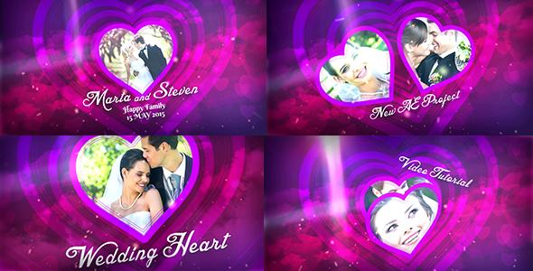 Videohive Wedding Heart