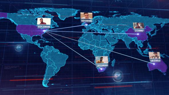 Videohive World Map 16046826