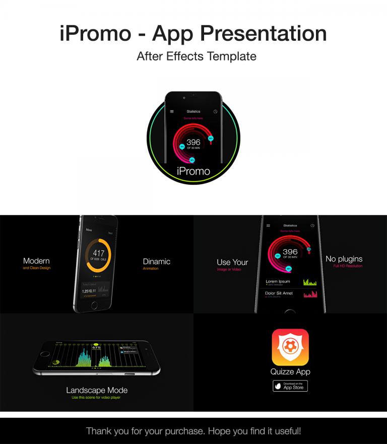 Videohive iPromo - App Presentation 19256466