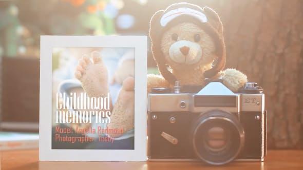 Videohive Childhood Memories Photo Album 17200827