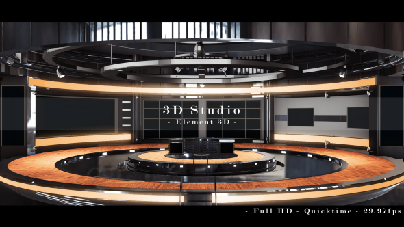 Videohive 3D Studio 16184422