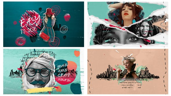 Videohive 4k Hand Drawn Promo Pack 24768693