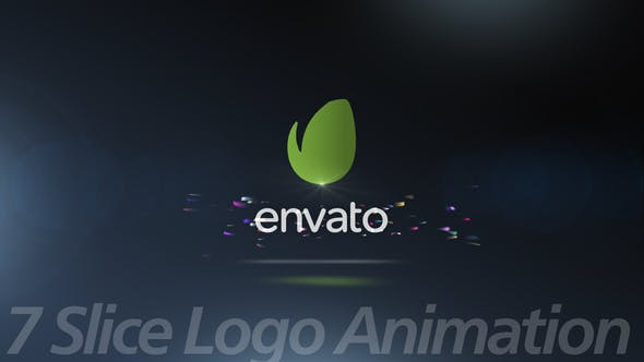 Videohive 7Slice Logo Animation 25591204