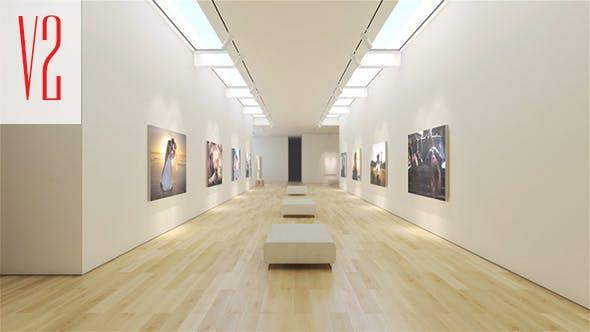 Videohive Art Museum Gallery 16728643