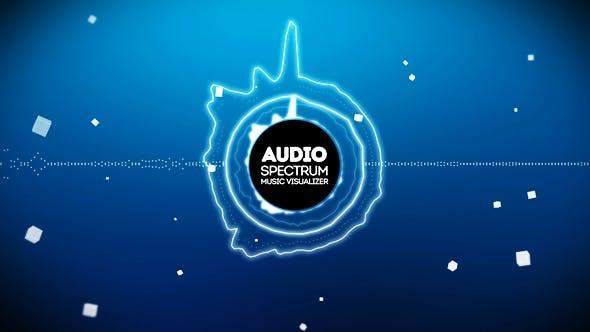 Videohive Audio React Spectrum Music Visualizer 13124457