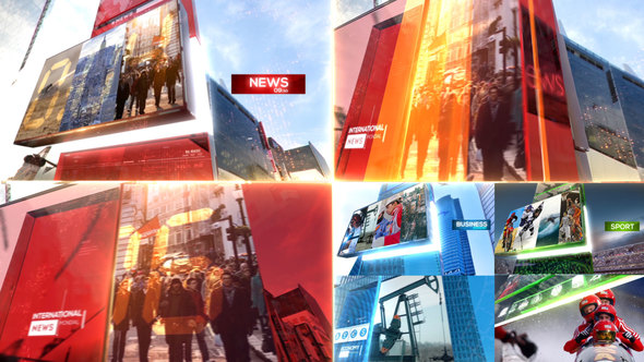 Videohive Broadcast News Package 22791074