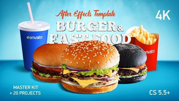 Videohive Burger & Fast Food Promo 22393691